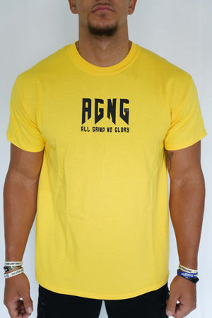 """AGNG"" Tee (Yellow/Black)"