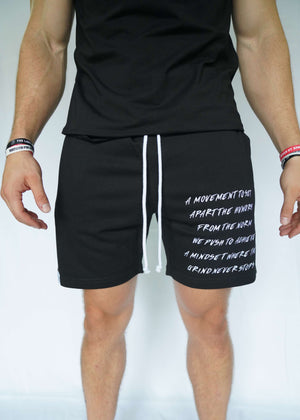 Scripture Shorts (Black)