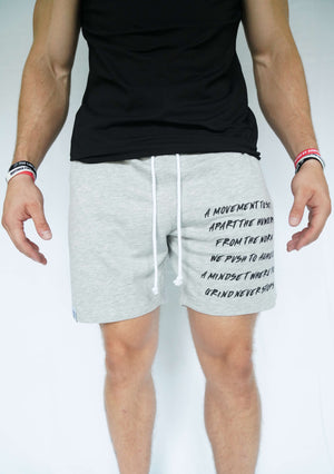 Scripture Shorts (Grey)