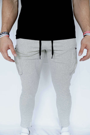 TLB Cargo Joggers (Light Grey)