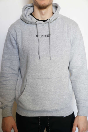 """Engraved"" Hoodie (Heather Grey)"