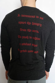 """Scripture"" Long Sleeve (Vintage Black)"