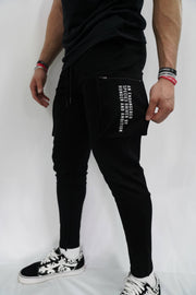TLB Cargo Joggers (Black)