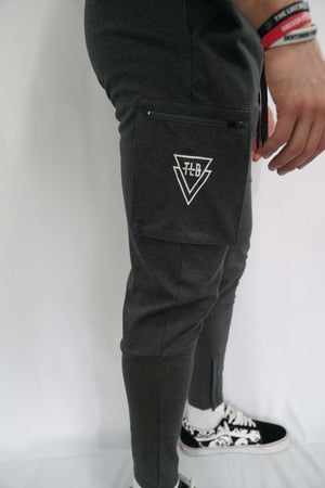 TLB Cargo Joggers (Charcoal Grey)
