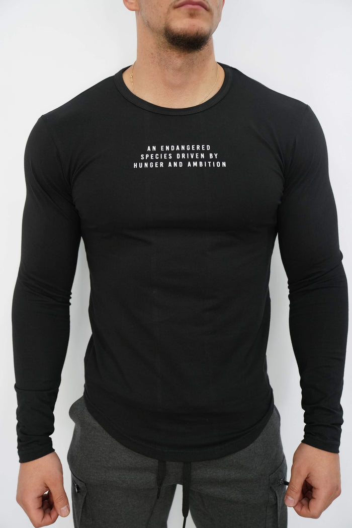 Endangered Species Long Sleeve (Black)