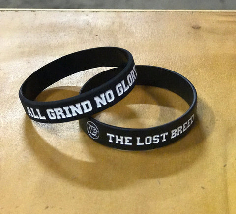 All Grind No Glory Wristband - The Lost Breed