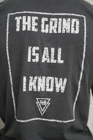 """Grind Is All I Know"" Tee (Grey) - The Lost Breed"