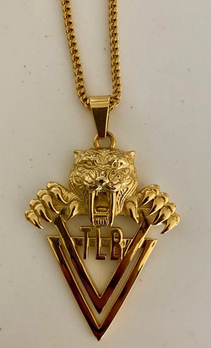 18K Gold TLB Tiger Chain (Exclusive) - The Lost Breed