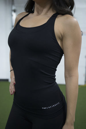 Women's Performance Tank (Black) - The Lost Breed