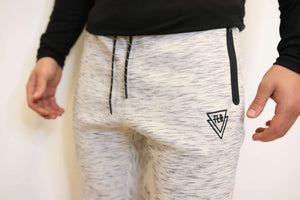 TLB Tech Joggers (White) - The Lost Breed