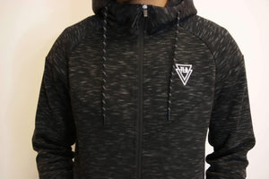 TLB Tech Zip-Up (Black) - The Lost Breed