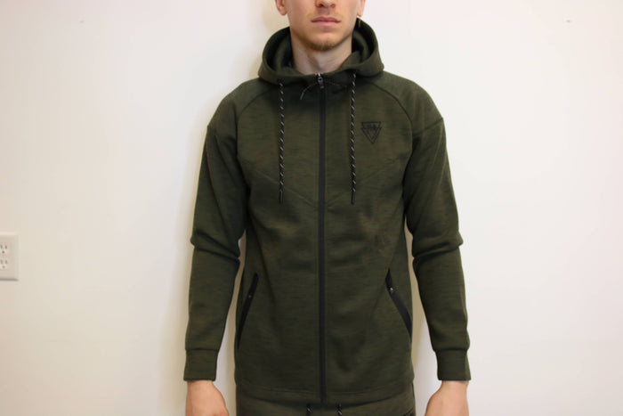 TLB Tech Zip-Up (Dark Green)