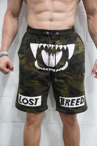 Killer Instinct Shorts (Camo) - The Lost Breed