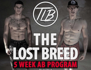 Abs of Steel: 5-Week Home Ab Program - The Lost Breed