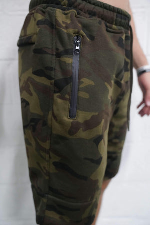 TLB Tech Shorts (Camo) - The Lost Breed