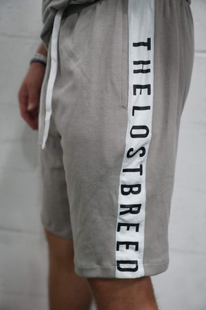 TLB Panel Shorts (Grey) - The Lost Breed