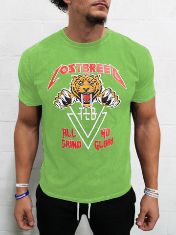 TLB World Tour Tee (Lime Green)*