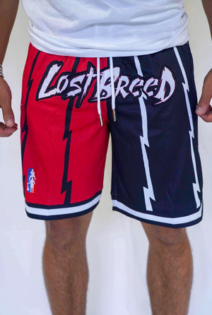 TLB Retro Shorts (Black/Red)