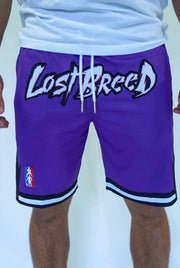 TLB Retro Shorts (Purple)