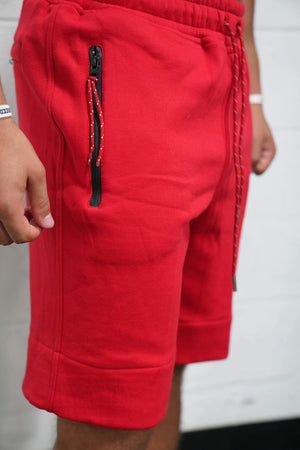 TLB Tech Shorts (Red) - The Lost Breed