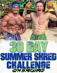 30 Day Summer Shred Challenge - (Gym Equipment Required)