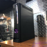 Custom Black Zephyr RGH2 w/40GB HDD, ROL LED's and 2 Mod Menus! Online Ready!!! - Sharky's Customs LLC