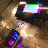 Custom Dual Window Jasper RGH1.2 With Pink & Blue LED's (120GB HDD w/MENUS) - Sharky's Customs LLC
