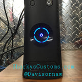 Custom Xbox 360 Black Falcon Elite RGH1.2 - LEDs of Your Choice! - Sharky's Customs LLC