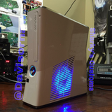 Custom White Xbox 360 Slim Corona RGH2 (LED's of Your Choice) - Sharky's Customs LLC