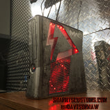 Custom (Red) Limited MW3 Hand Crafted RGH2 Slim, 320 GB HDD W/ 15 Mod Menu's - Sharky's Customs LLC