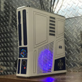 Custom Limited Edition Star Wars Xbox 360 Slim RGH2. (LED's of Your Choice) - Sharky's Customs LLC