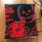 Custom Limited Edition Gears Of War Xbox 360 Slim RGH2. 320GB, Red LED's & Controller - Sharky's Customs LLC