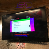 Custom Black Xbox 360 Slim RGH2 250GB Pink/Purple & Blue LED's 5 Menus - Sharky's Customs LLC