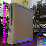 Custom Xbox 360 White Jasper RGH1.2 - LEDs of Your Choice! - Sharky's Customs LLC