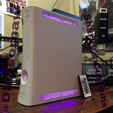 Custom Xbox 360 White Falcon RGH1.2 - LEDs of Your Choice! - Sharky's Customs LLC