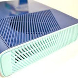 Custom Blue Glossy Forza Edition Xbox 360 E Slim RGH2 (LED's of Your Choice) - Sharky's Customs LLC