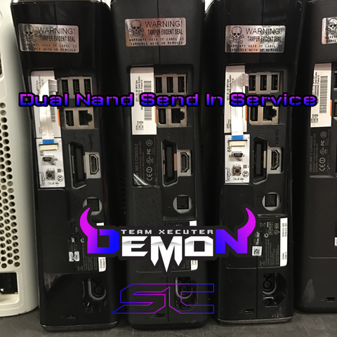 Send In Service | Dual Nand Install Service (Send your Console In) TRINITY ONLY! - Sharky's Customs LLC