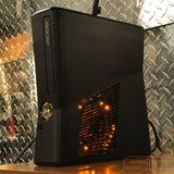 Custom Black Xbox 360 Slim RGH2 Console Only - Sharky's Customs LLC