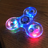 RGB Color Changing Fidget Spinner (Focus/Concentrating)