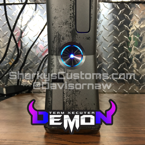 Custom MW3 Xbox 360 Trinity Slim Dual Nand (DEMON) 2 in 1! - Sharky's Customs LLC