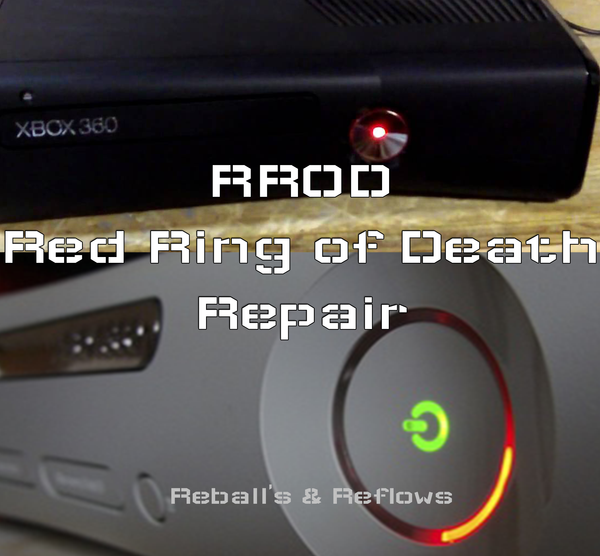 Send in - Xbox 360 RROD / Red Ring of Death Repair