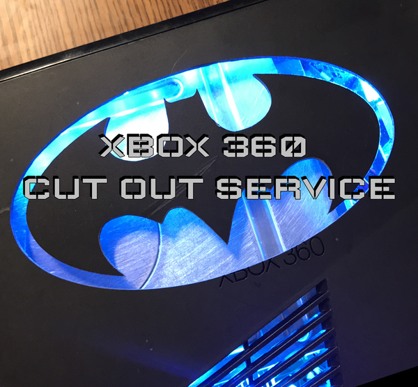 Xbox 360 Cut Out & LED's Send In Service - Sharky's Customs LLC