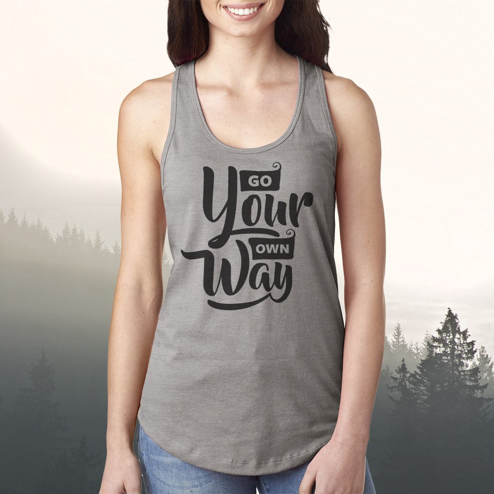 Go Your Own Way Tank Top