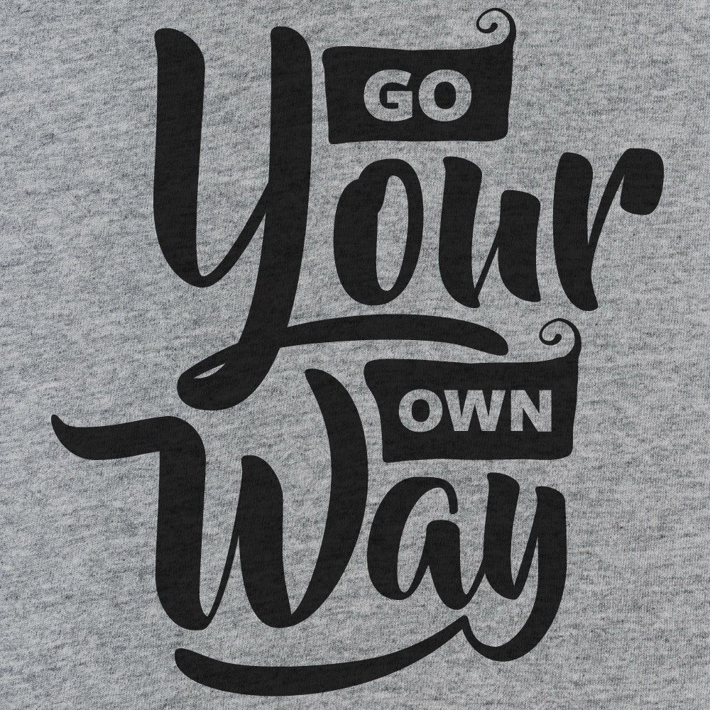 Go Your Own Way Tank Top - Shi...