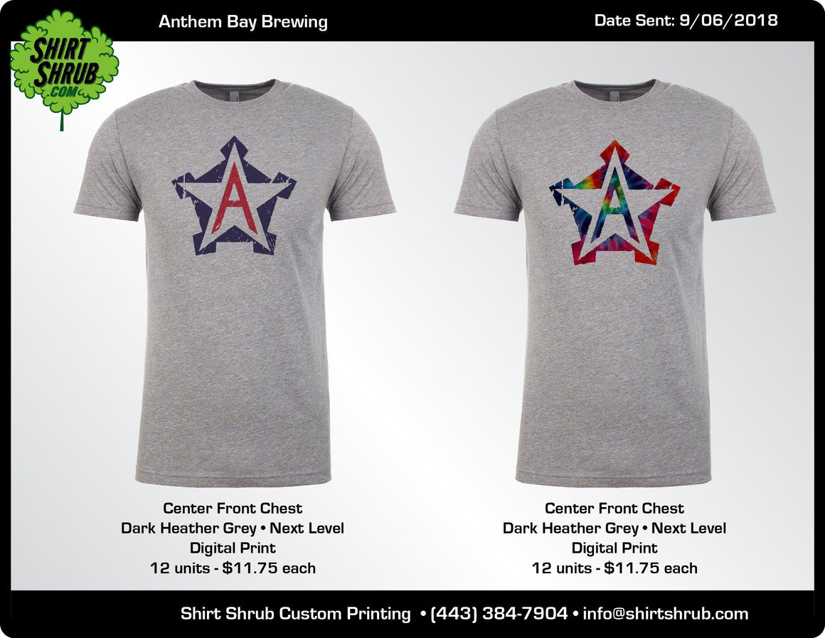 Anthem Bay Logo Shirts