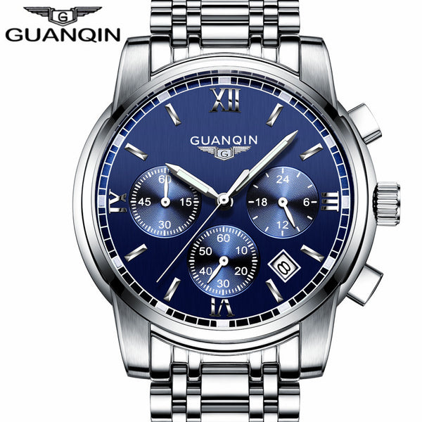 LUXURY Men Business Top Brand Waterproof Quartz-Watch