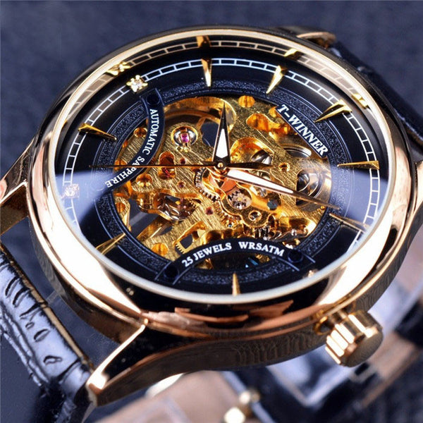 """THE ADMIRAL"" LUXURY MECHANICAL SKELETON WATCH"