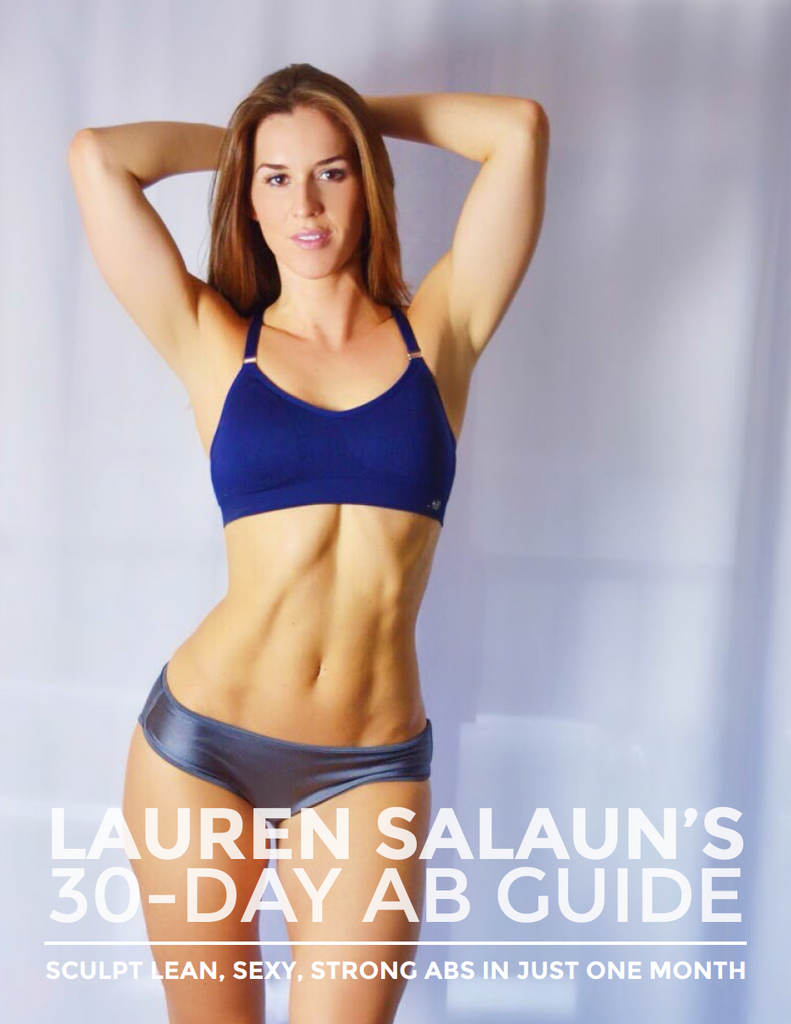 Lauren Salaun's 30-Day Ab Guide