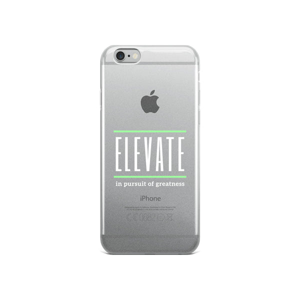 ELEVATE iPhone Case (white)