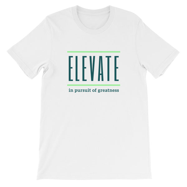 ELEVATE Short-Sleeve Unisex T-Shirt (green)